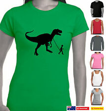 Funny T-Shirts Dinosaurs T-Rex boy sizes Men's Singlets tops retro banksy Art