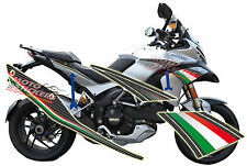 DUCATI MULTISTRADA 1200 - Kit fiancate racing tricolore/carbonio
