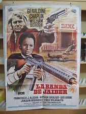 A2222 LA BANDA DE JAIDER - AÑO 1973 - GERALDINE CHAPLIN, WILLIAM BERGER