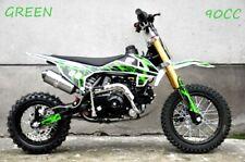 90cc Dirt Trail PIT Bike Motor 2 wheels Electric Start Semi Auto Junior Bike
