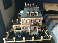 playmobil victorian mansion 5300 turned into a haunted mansion. Fence included
