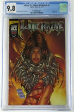 Wizard ACE Edition Witchblade #9 12/1995 CGC 9.8 WP Acetate Cover Hologram Logo