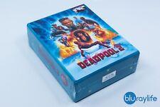 DEADPOOL 2 Blu-Ray Steelbook Limited Edition Filmarena E1 + E2 +E3 One Click Set