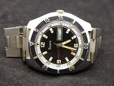 Very Rare Vintage SEARS DIVERS (by Sicura Breitling) Day&Date Automatic 17Jewels