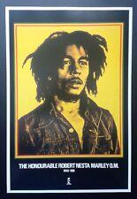 BOB MARLEY *RARE ORIGINAL 1991 ISLAND RECORDS POSTER* SKA RASTA REGGAE DUB