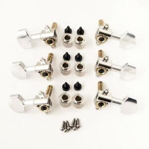 PRS Phase III Locking Tuners Nickel (Set of 6) 101659:N:003
