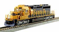 KATO 376616 HO Scale EMD SD40-2 Mid-Production SF #5072 DCC Ready 37-6616