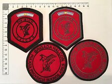 4 ORIGINAL POLICE HALCON SWAT PATCHES SET COLLECTION PATCH ARGENTINA 80s 90s