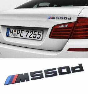 550d Emblem Logo 3D Matte Schwarz für 550d Emblem ABS M550d New
