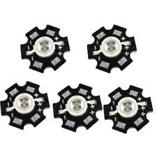 5PCS 5 W 850 µ 940 µ infrarrojos IR de alta potencia chip de luz LED para cámara de visión nocturna