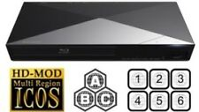 Sony BDP-S5200 3D MULTI REGION ALL REGIONS Free ABC DVD 1-8 WiFi Blu-Ray Player