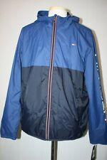NWT Tommy Hilfiger Colorblock Hooded Rain Jacket...