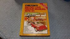 Chilton's Import Car Repair Manual 1975-1981 6th Edition