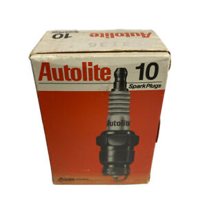10 Pack Autolite Copper Core Spark Plug 3136