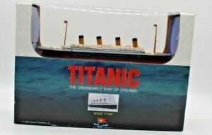 Titanic Model The Unsinkable Ship of Dreams by Claytown 1/1163 Scale New in Box