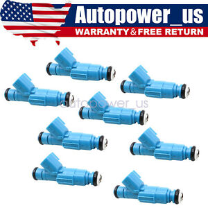 Upgraded Set of 8 Fuel Injectors for Ford F-150 E-150 E250 4.6L V8