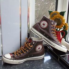 BROWN CONVERSE ALL STAR GUSSET TONGGUE 125657C SHOES SIZE UK 7