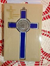 "U.S.AIR FORCE CROSS  MEDALLION PEWTER 8x4""  IMPRESSIVE & Beautiful NEW in box"