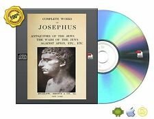 Complete works of Josephus-Antiquities,The wars of the Jews,Against Apion, etc