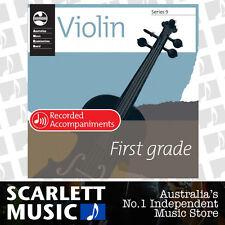 AMEB Violin Series 9 ( Nine ) Grade 1 (One / First ) Recorded Accompaniments CD