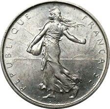 WCA France 5 Francs 1963 Silver Superb ! Lot #794