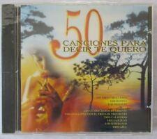 CANCIONES PARA DECIR TE QUIERO. 2  - VARIOUS ARTISTS CD  - BRAND NEW