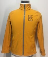NFL New York NJ Super Bowl XLVIII Women's Jacket Small Yellow Host Committee