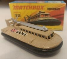 Matchbox superfast 72 Hovercraft 1972 Custom/Crafted box
