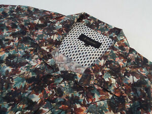 """1 LIKE NO OTHER Mens Shirt   Size XXL (52"""" CHEST)   RRP £135+📮 BOLD FLORAL LEAF"""