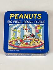 Peanuts Circus Ring Master Snoopy Puzzle In Collectors Tin - Charles M. Schulz