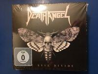 DEATH. ANGEL.         THE. EVIL. DIVIDE.       CD /. DVD. DIGIPACK.