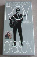 THE LEGENDARY ROY ORBISON 4 music cassettes box set