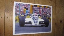 Nelson Piquet F1 Legend Great New POSTER
