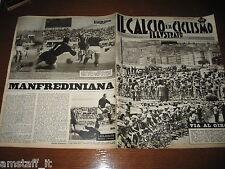 IL CALCIO E CICLISMO ILLUSTRATO 1963/21=GIRO D'ITALIA=ROMA ATALANTA 1-1=