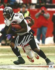Anquan Boldin Autographed Baltimore Ravens 8x10 Photograph