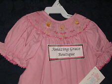 Girls smocked Bishop BALLET 4T dress NEW Vive La Fete Ballerina Dancer Pink