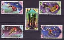 Emiratos Árabes tema espacio (O-974)