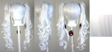 23'' Curly Pig Tails + Base Snow White Cosplay Wig New
