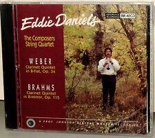 Reference Recordings CD RR-40: Eddie Daniels - WEBER & BRAHMS - 1991 USA SEALED