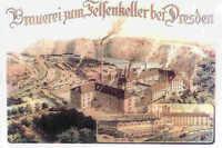 Brauerei zum Felsenkeller bei Dresden historische Aktie 1943 Sachsen Bier Eis