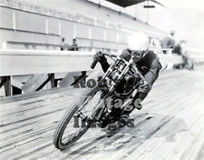 Motorcycle Board Track Racing Daredevil #4 1915-20 old photo Vintage  8 X 10
