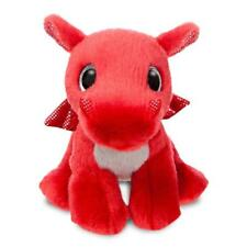 Aurora World 60862 Sparkle Tales Flame Dragon Soft Toy Red 7-inch
