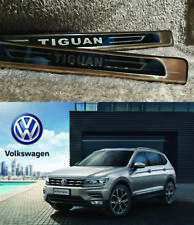 VW Tiguan Mk2 2017-2018 CHROME DOOR SILL SCUFF PLATE GUARD TRIMS PROTECTOR (UK)