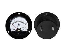 0 - 20A DC  Analog Einbau Messinstrument , Rund Amperemeter Messgerät mit Shunt