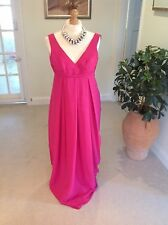 """Ladies Size 14 Dark Pink Prom/ Evening Dress By """"Light In The Box""""."""