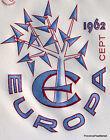EUROPA 1962 Yt1358 FRANCE FDC Enveloppe Lettre Premier jour