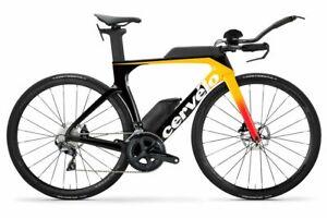 2020 Cervelo P-Series Disc Ultegra Carbon TT Tri Bike 54cm Orange/ Coral P3 NEW
