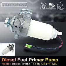 Holden Rodeo Diesel Fuel Primer Pump TFR55 TFS55 4cyl 4JB1-T 2.8L 8-98319-898-0