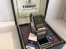 Tissot Formula1 TS/X2 Dual Time Chrono Alarm Swiss Made  Quartz LCD LED