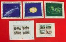 Germany DDR, 1964-87, SC#745-747, 9N315a-d, 9N537a-d, Quiet Sun, Racing, MNH